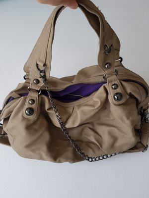 Fritzi aus preußen Shoulder Bag grey brown mixture fibre
