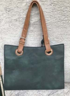 Briefcase dark green