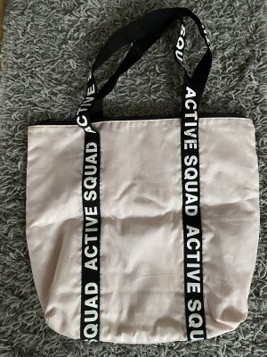 H&M Divided Pouch Bag light pink