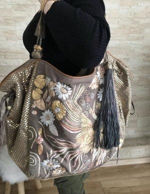 Accessorize Sac porté épaule doré-bronze