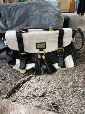 Bumbag white-black
