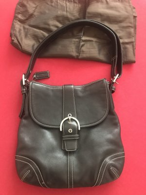 Coach Crossbody bag black leather