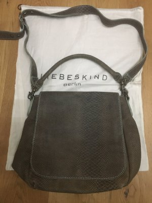 Liebeskind Pouch Bag grey brown