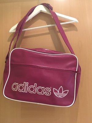 Adidas Bolsa de hombro rosa