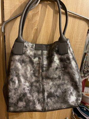 Tom Tailor Handbag black-silver-colored