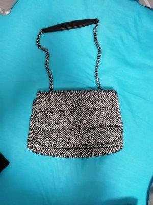 Zara Canvas Bag white-black