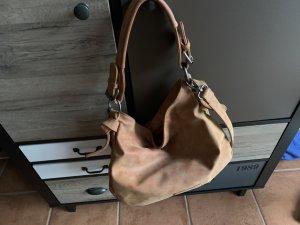 Fritzi aus preußen Crossbody bag dark orange-bronze-colored imitation leather