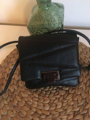 Tasche Abendtasche schwarz gesteppt