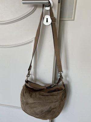 abro Shoulder Bag beige-silver-colored