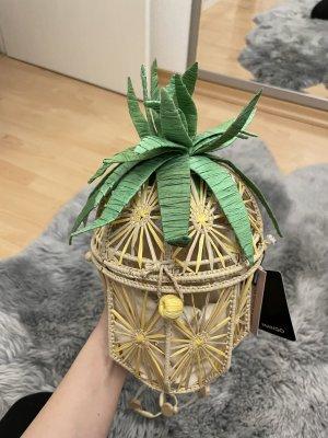 Mango Bolso tipo cesta multicolor