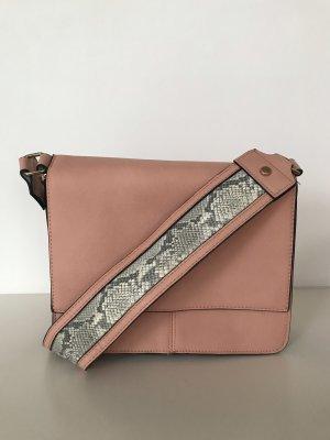 Asos Shoulder Bag pink polyester