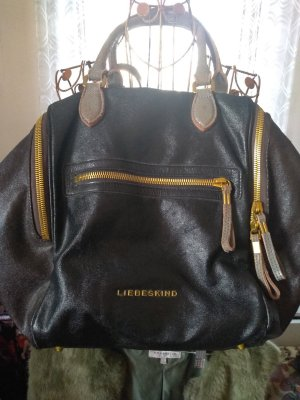 Liebeskind Carry Bag black-black brown