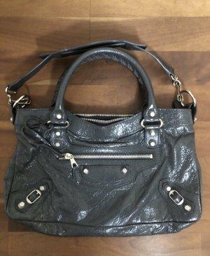 Balenciaga Handbag dark grey leather