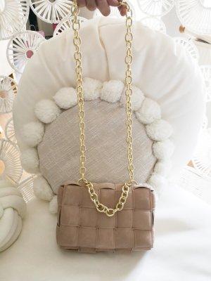 Tasche beige creme Gold blogger boho