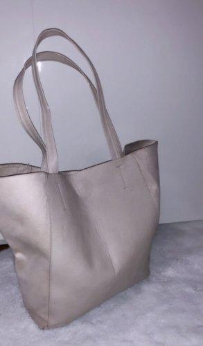 Tasche beige nude umhängetasche shopped uni schule
