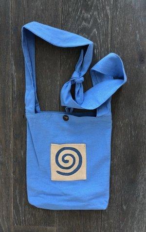 Handmade Sac seau multicolore coton