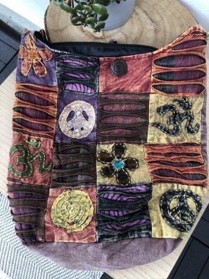 Tasche Beuteltasche stonewashed Baumwolle