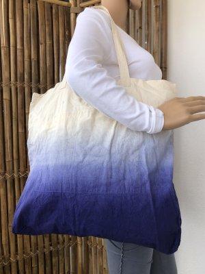Handmade Borsa larga multicolore Cotone