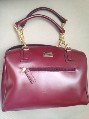 cerruti 1881 Bowling Bag bordeaux leather