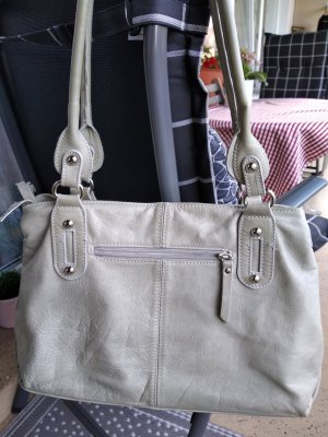 Borse in Pelle Italy Sac à main gris clair-gris