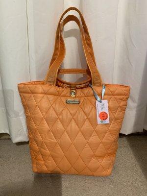 Brasi&Brasi Shopper orange-pink