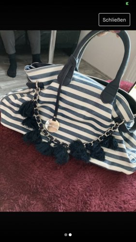 Alex. Max Handbag white-blue