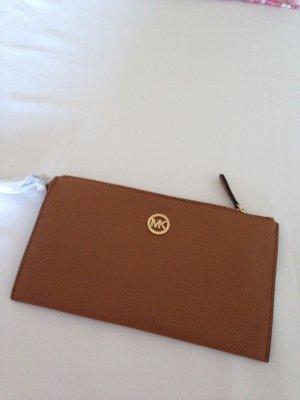 Michael Kors Clutch cognac-coloured leather