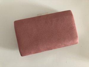 Tasche Clutch puder rosa pink neu ohne Kette