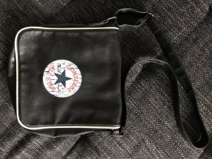 Converse Crossbody bag black-white