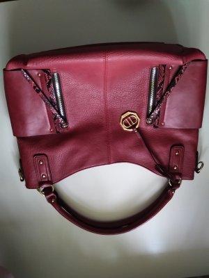 Shoulder Bag black-dark red