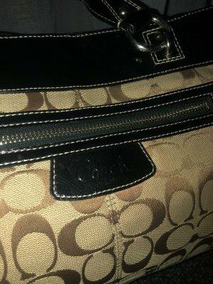 Coach Handbag black-beige