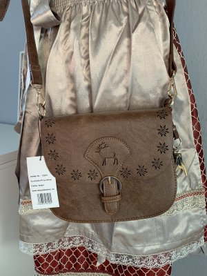 Edelweiß Traditional Bag cognac-coloured-brown