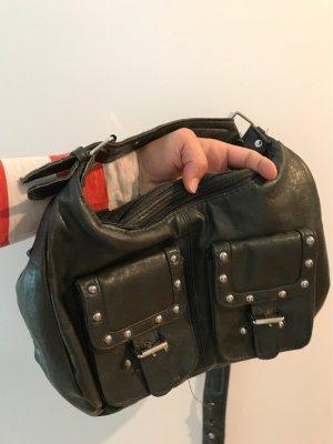 Tasche eine Mischung aus grau und grün