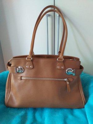 Esprit Shopper russet leather