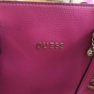 Guess Basket Bag pink