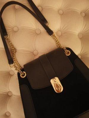 Tasche Gold schwarz