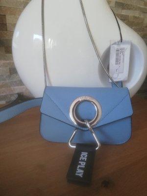 Dwustronna torebka błękitny