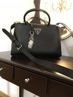 Guess Handbag black leather