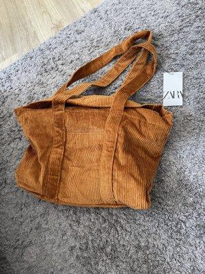 Tasche handtasche cord neu zara