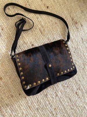 Tasche Handtasche Umhängetasche Leder Clutch hochwertig NP 219€