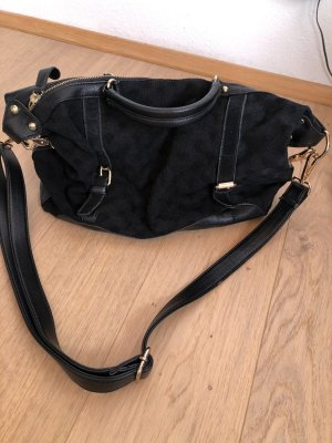 Deena & Ozzy Crossbody bag black-gold-colored
