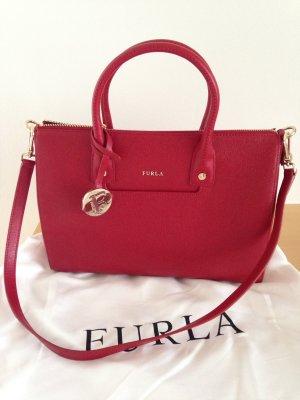 Tasche, Handtasche,von Furla, neu, in Rot, Leder