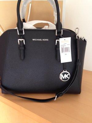 Tasche, Handtasche, von Michael Kors, in Schwarz, Leder ,neu mit Etikett