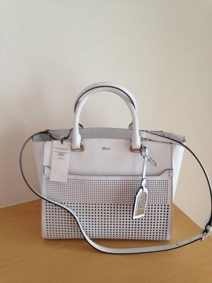 Tasche, Handtasche, von Ralph Lauren, neu, in Weiß, Leder
