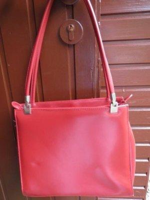 Tasche, Henkeltasche, rot