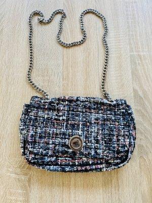 Zara Woman Canvas Bag multicolored