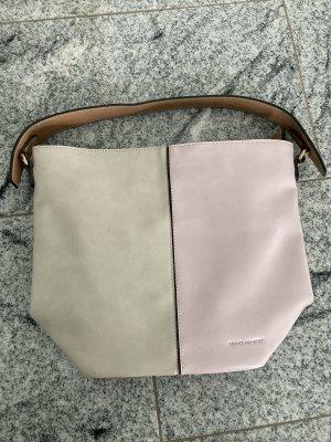 Tasche in beige/rosé