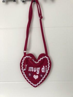 Tasche in Herzform