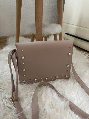 Tasche in Nudefarbe, Neu