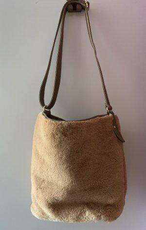 Shopper chameau-bronze polyester